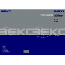 BEKO BC 50 Fridge Freezer