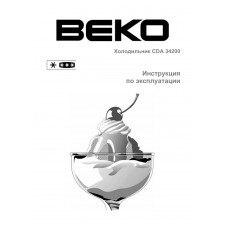 BEKO CDA 34200 Fridge Freezer
