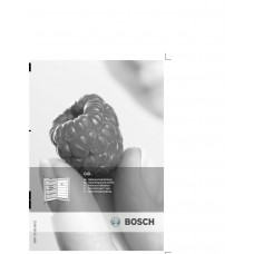 Bosch GID 14A50 Vertical Fridge