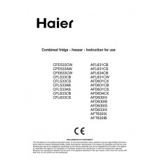 Haier AFL631CB Fridge Freezer