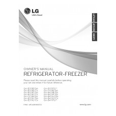 LG GA-409 UCA Fridge Freezer