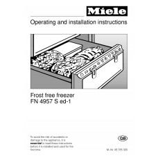 Miele FN 4957 Sed-1 Vertical Fridge