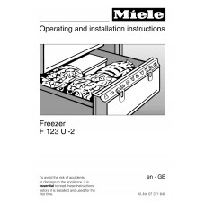 Miele F 123 Ui Vertical Fridge