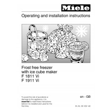 Miele F 1811 Vi Vertical Fridge