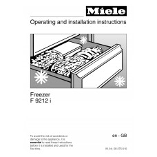 Miele F 9212 I Vertical Fridge