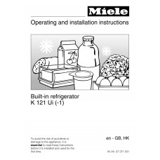 Miele K 121 Ui Fridge