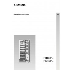 Siemens FI 24DP31 Vertical Fridge