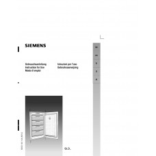 Siemens GI 14DA40 Vertical Fridge