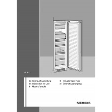 Siemens GI 38NP60 Vertical Fridge