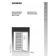 Siemens GS 32NA21 Vertical Fridge